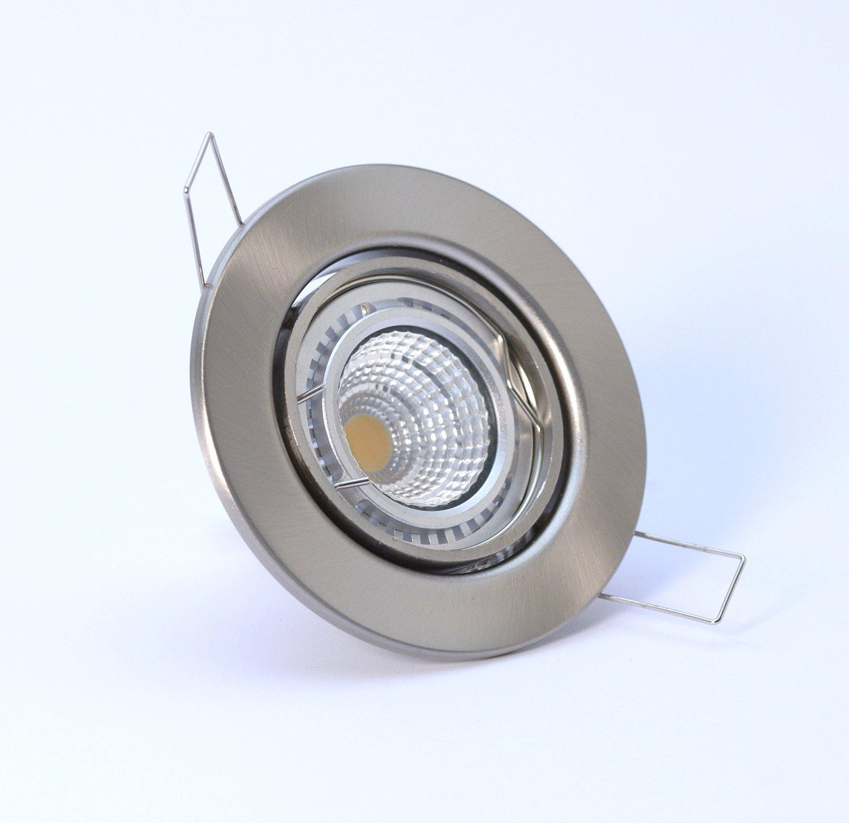 10er SET LED Decken Strahler Einbau Spot  230V 5W T Leuchte schwenkbar DECORA