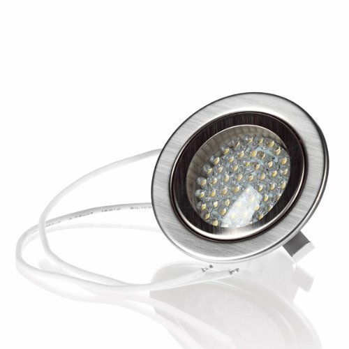 Fabulous LED Einbaustrahler 230V geringe Einbautiefe » flache Ausführung QK44