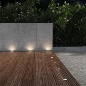 LED Einbaustrahler außen