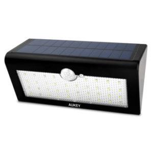 AUKEY LED Solar Wandleuchte Solarlampe